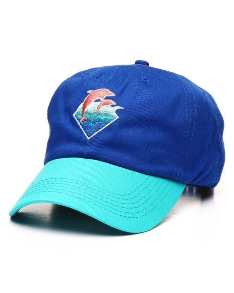 Pink Dolphin - Waves 6 Panel Hat