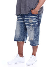 Akademiks - Pyramid 5Pocket Denim Short (B&T)-2340296