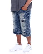 Buyers Picks - Zip Trim Ripped Denim Shorts (B&T)-2340376