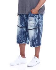 Buyers Picks - Zip Trim Ripped Denim Shorts (B&T)-2340352