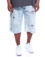 Akademiks - Pyramid 5Pocket Denim Short (B&T)-2340273