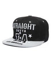 Men - Straight Outta Los Angeles Snapback Hat-2333249