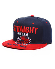 Men - Straight Outta Cleveland Snapback Hat-2333246