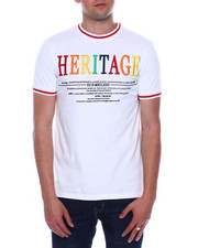 Shirts - MULTI COLOR EMBROIDERED LOGO TEE-2342408