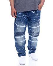Jeans & Pants - Side Seam Seal Zipped Biker Denim Jean (B&T)-2343093