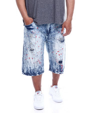 Akademiks - Pyramid 5Pocket Denim Short (B&T)-2343205