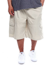 Akademiks - Safari Twill Cargo Short  With Knit Waist (B&T)-2342683