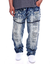 Men - Splatter Jeans (B&T)-2340367