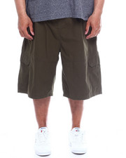 Akademiks - Safari Twill Cargo Short  With Knit Waist (B&T)-2342666
