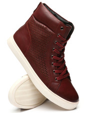 TAYNO - Perforated High Top Sneakers-2340755