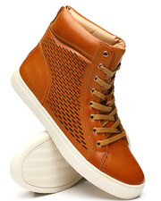 TAYNO - Perforated High Top Sneakers-2340745
