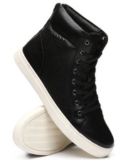 TAYNO - Perforated High Top Sneakers-2340735