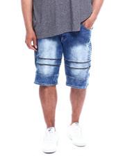 Buyers Picks - Zipped Biker Denim Shorts (B&T)-2343140