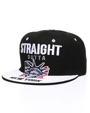 Hats - Straight Outta New York Snapback Hat-2333250