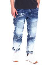 Jeans & Pants - Spike Embossed Moto Jean-2343419