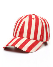 Fashion Lab - Striped Baseball Cap-2333255