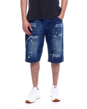 Akademiks - 5 Pocket Denim Short -Trouble Maker-2343520