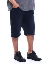 Big & Tall - Basic Denim Shorts & Rip (B&T)-2342755