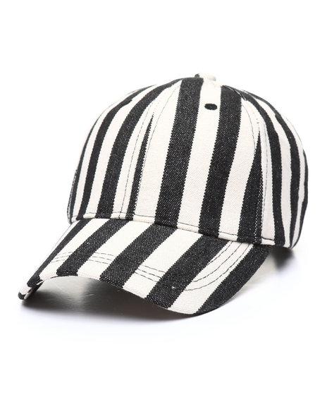Fashion Lab - Striped Baseball Cap