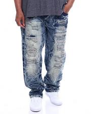 Jeans & Pants - Waterproof Zippers Destructed Jeans (B&T)-2340357