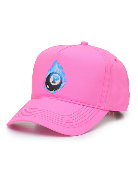 Pink Dolphin - 8-Ball Flame Hat