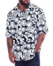Button-downs - Hawaiian Poly Print Woven (B&T)-2344299