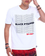 Black Pyramid - BP Repeat Text Tee-2344636