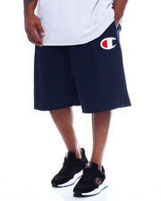 Champion - Contrast Waist Fleece Short w/ Large C (B&T)-2344677