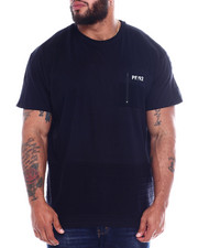 Phat Farm - S/S Pintuck Zipper Front Pocket Crew Neck Jersey (B&T)-2344377