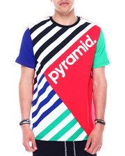 Black Pyramid - MULTI STRIPE TEE-2344610