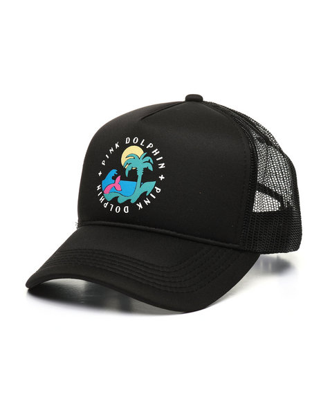 Pink Dolphin - Paradise Trucker Hat