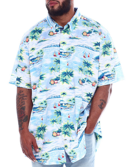 Nautica - 40's Stretch Poplin Shirt (B&T)