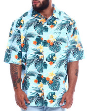 Big & Tall Faves - Hawaiian Poly Print Woven (B&T)-2344154