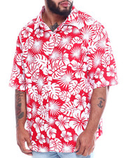 Black Friday Deals - Hawaiian Poly Print Woven (B&T)-2344136