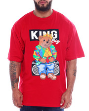 Short-Sleeve - King Bear Printed Crew Neck S/S Tee (B&T)-2343684