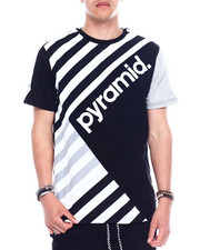 Black Pyramid - MULTI STRIPE TEE-2344342