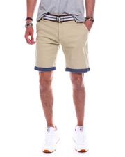 Shorts - JAMIE TWILL ROLL UP SHORT-2343192