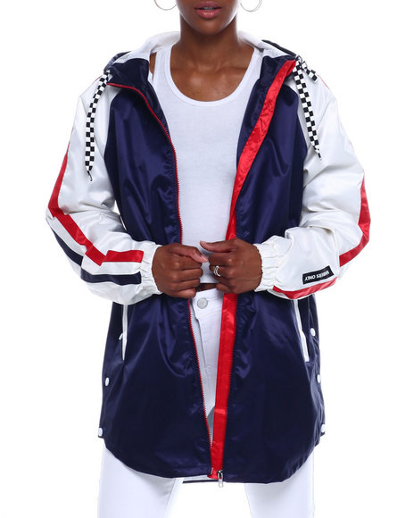 Members Only - Members Only Poly Satin Twill Jacket