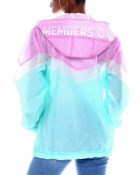 Members Only - Members Only Translucent Jacket