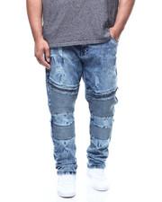 Big & Tall Faves - Rip & Repair Moto Stretch Jean (B&T)-2305646