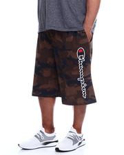 Shorts - Cotton Jersey Short W/ Script Champion Down Leg (B&T)-2344651