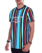 Shirts - CONNECT MULTI STRIPE TEE-2345428
