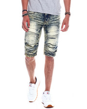 Shorts - SEAMED MOTO DENIM SHORT-2345506