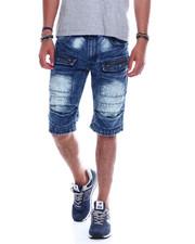 Shorts - CARGO POCKET DENIM SHORT-2345584