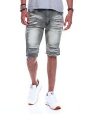 Shorts - LIGHT GREY DENIM SHORT-2345618