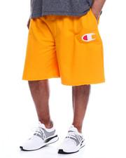Shorts - Contrast Waist Fleece Short w/ Large C (B&T)-2344661