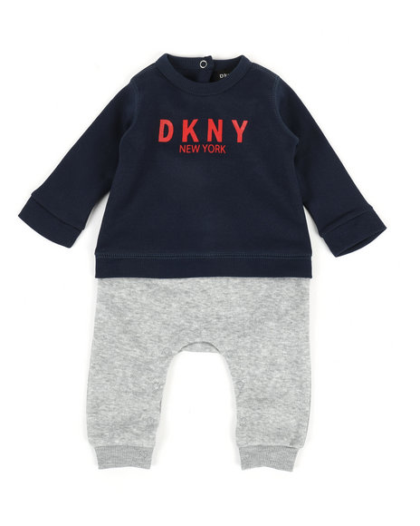 DKNY Jeans - DK New York Coveralls (Infant)