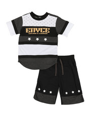 Enyce - 2pc Tee & Shorts Set (8-20)-2340564
