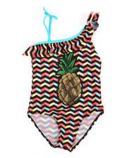 Swimwear - Pineapple Swimsuit (7-16)-2339365