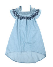 Dollhouse - A-Line Dress W/ Embroidered Smock (2T-4T)-2341370
